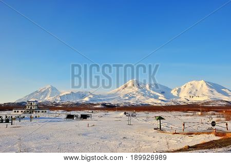 Russian Kamchatka. This is an amazing land of volcanoes.