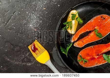 Ready For Grill Salmon Steaks