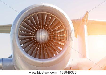 Engine Turbo Fan Engine Aircraft.