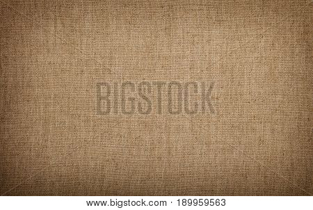 Grey Brown Flax Linen Canvas Texture Background