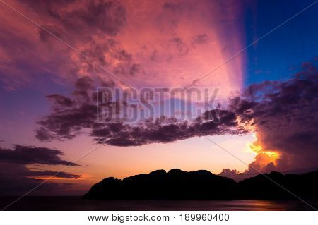 Burning Skies Darkening Heavens