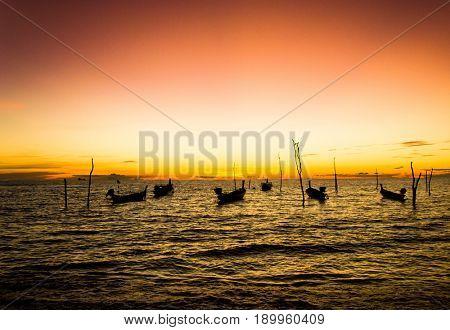 Sunset Coast Hideaway Scene