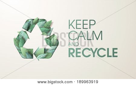 Nature web banner concept design. Vector illustration on the theme of recycling, environment, ecology, sustainable technology.