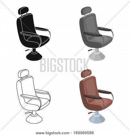 Hairdresser.Barbershop single icon in cartoon style vector symbol stock illustration .