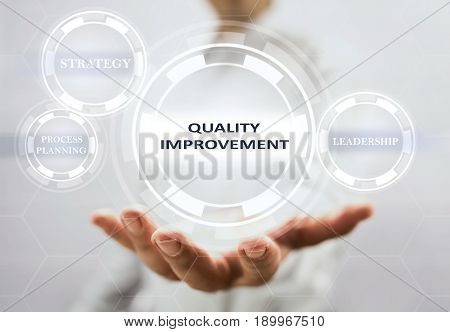 Concept For Quality Improvement On Virtual Screen