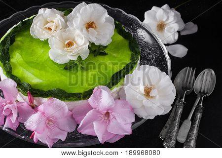 Mojito Cake And Roses
