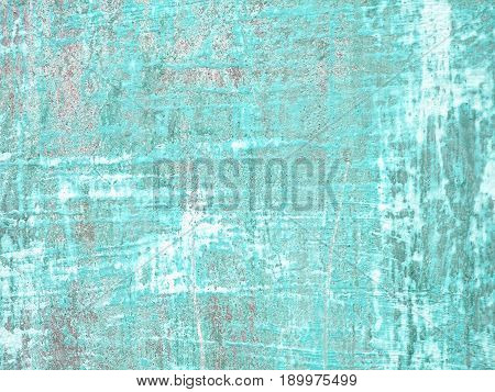 abstract background with aquamarine texture wall concrete