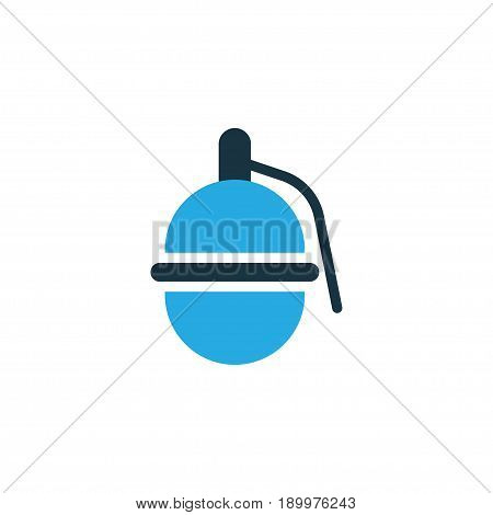 Dynamite Colorful Icon Symbol. Premium Quality Isolated Grenade Element In Trendy Style.