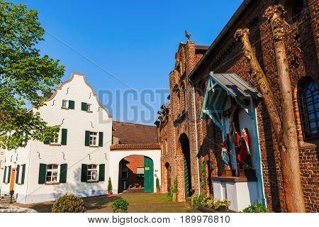 Townscape Of Bedburg-kaster, Germany