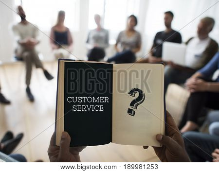 Question Mark Query Information Support Service Graphic