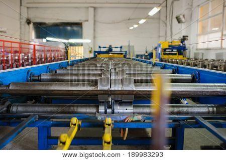 Metal Tile Manufacturing Factory