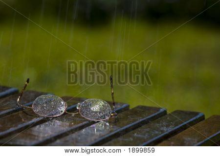 Glasses In The Rain
