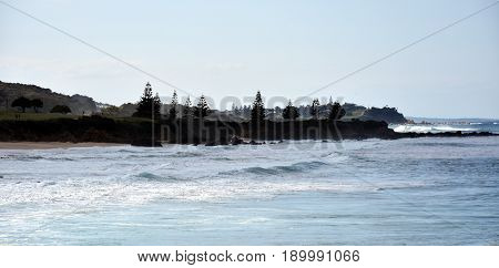 View from Kianga Point. Kianga is a small town on the South Coast of New South Wales Australia immediately north of the town of Narooma.
