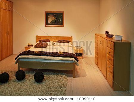 Warm nice bedroom
