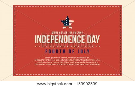 Collection stock of independence day background vector art