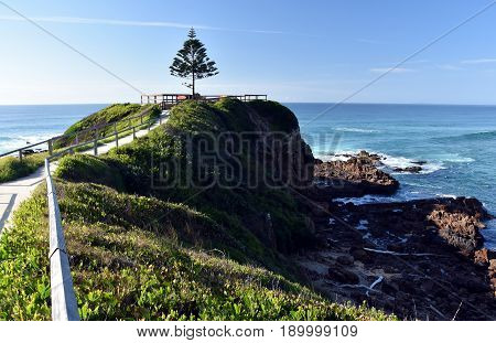 One Tree Point at Tuross Head. Tuross Head is a seaside village on the south coast of New South Wales Australia.