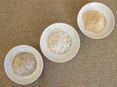 Rye flour, rye croats and dried rye sourdough poster