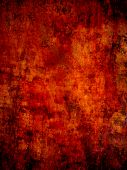red old bloody surface, grunge background poster