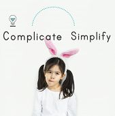 Antonym Opposite Complicate Simplify SImply Complex poster