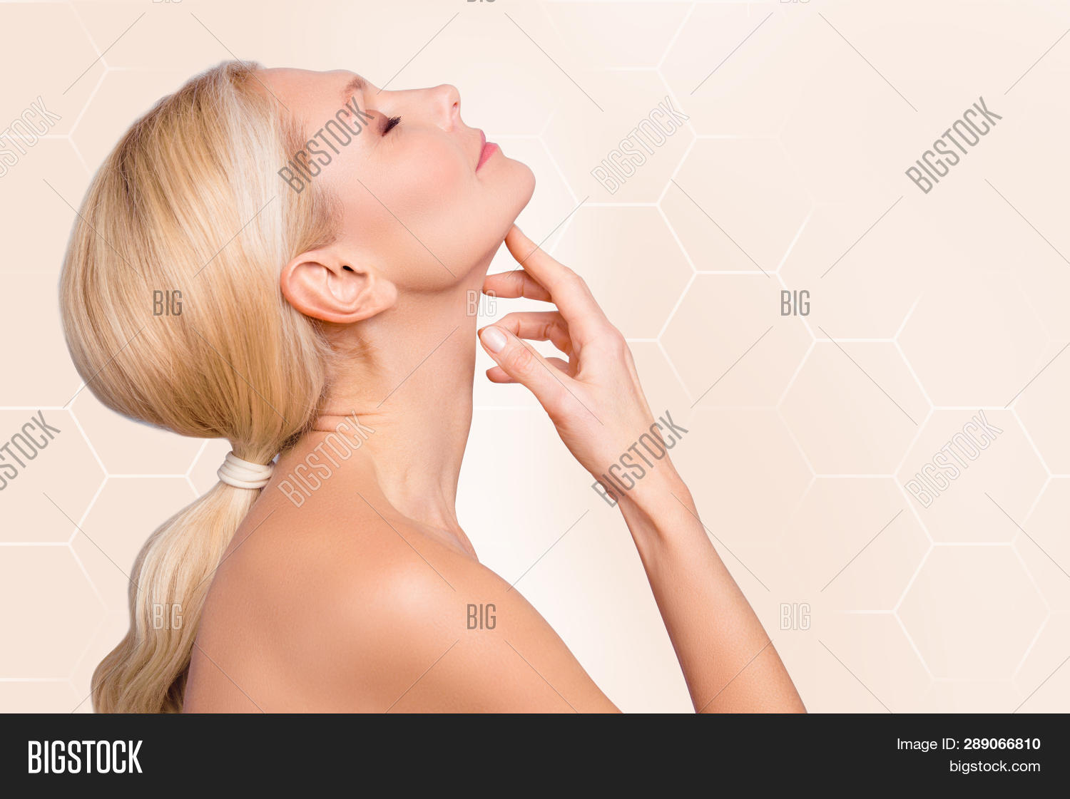 Profile Side View Half Image Photo Free Trial Bigstock