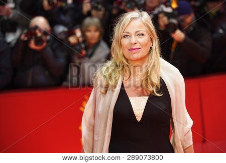 Lone Scherfig attends the opening ceremony and 'The Kindness Of Strangers' premiere during the 69th Berlinale  Festival Berlin at Berlinale Palace on February 07, 2019 in Berlin, Germany