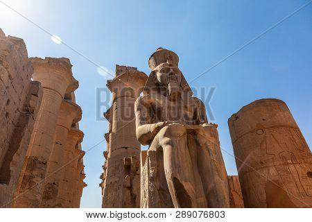 Karnak Temple In Luxor, Egypt