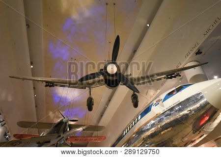 December 15, 2018, Chicago, Il German Aircraft Stuka Dive Bomber, Junkers Ju 87 R-2/trop. Werk Nr. 5