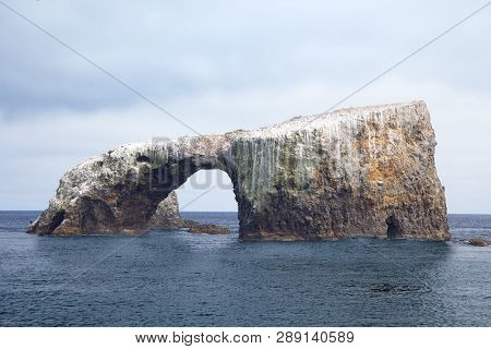 Anacapa Island East End With Arch Rock, Channel Islands, Southern California