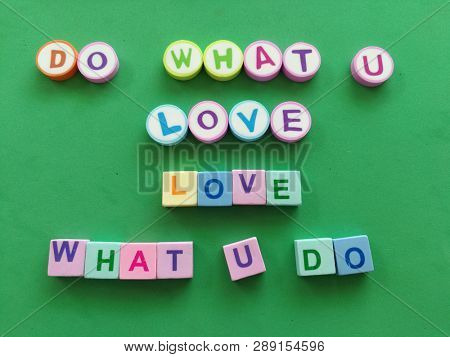 Quote on do what you love