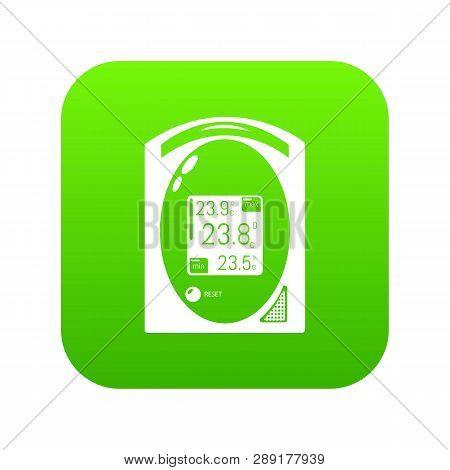 Medical Tonometer Icon. Simple Illustration Of Medical Tonometer Vector Icon For Web