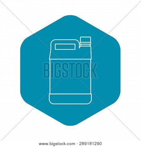 Jerrycan Icon. Outline Illustration Of Jerrycan Vector Icon For Web