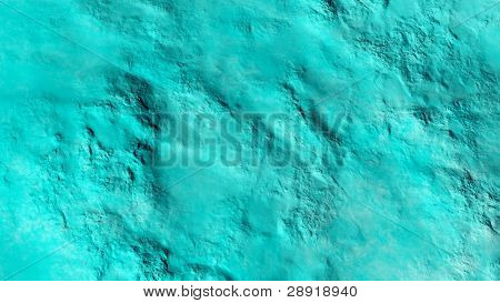 turquoise textured wall