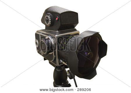 Medium Format Camera With Fisheye Lens