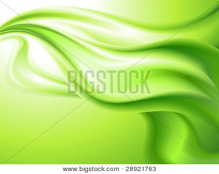 abstract background green (no mesh)