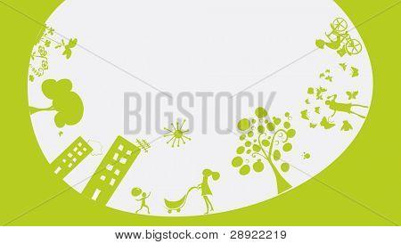 happy green world