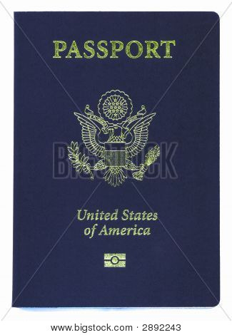 New Us Passport With Id Chip