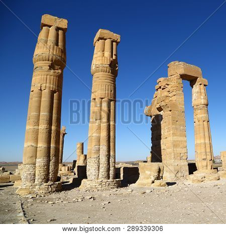 Soleb  The Antique Temple Of The Black Pharaohs