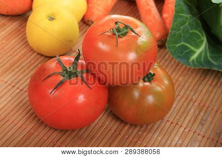 colorful collection of fruits and vegetables