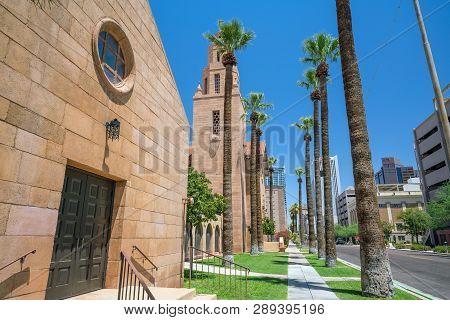 Old Church In Downtown Phoenix Arizona