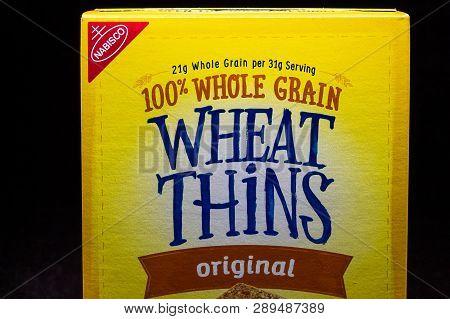 Nabisco Wheat Thins And Trademark Logo
