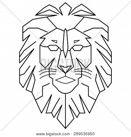 Geometric Lion Logo Vector Photo Free Trial Bigstock Geometric lion drawing at getdrawings | free download. geometric lion logo vector photo