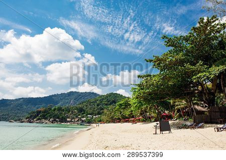 Beautiful Nature Landscape With Blue Sea In Thailand