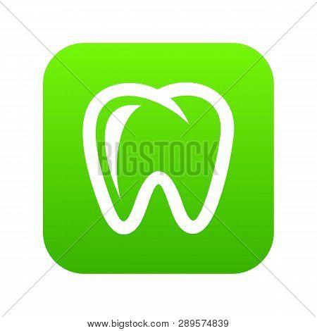 Molar Icon. Simple Illustration Of Molar Vector Icon For Web