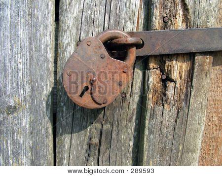 Vintage Lock 1