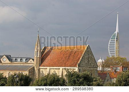 Royal Garrison Church, Portsmouth, On A Stormy Day
