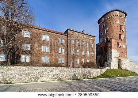 Wawel Royal Castle In Krakow - Poland