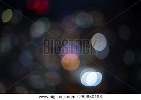 Abstract light flares on the black background for designers and retouch to apply in screen regime to compose the picture. poster