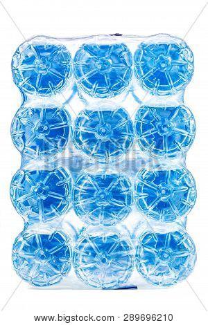 Pack Of Twelve Plastic Water Bottles