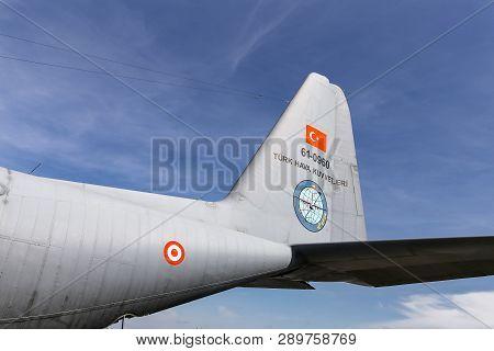 Lockheed C-130 Hercules In Teknofest Istanbul