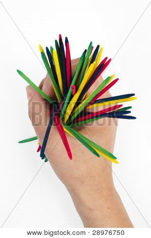 Colorful Wood Sticks